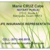 Marie Cruz Cabe's Notary Services Guam - 1